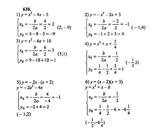 онлайн гдз алгебра 8