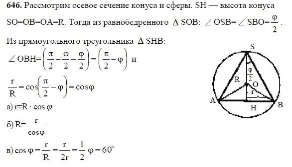 геометрия 10 11 класссы Атанасян ГДЗ