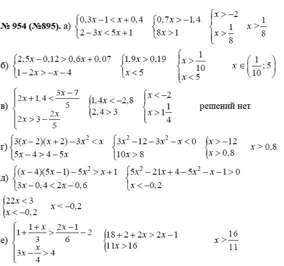Решебник По Математике За 9 Класс Макаревич 2018 Года