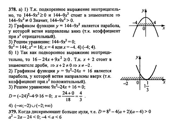 Алгебре 9 издание решебник 2018 по макарычев класс 16