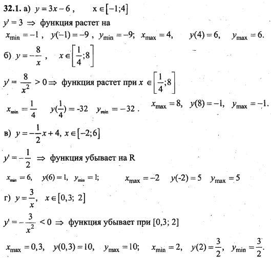 гдз решебник по алгебре 10 класс мордкович скачать