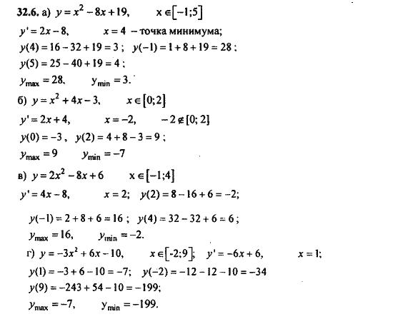 Гдз По Математике По Производной Функции