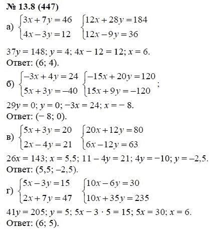 Алгебре мордкович по решебник гдз класс от путина 7