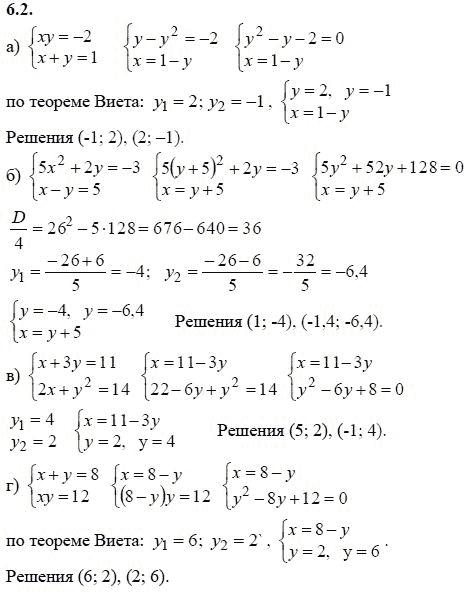 решебник 9 класса по алгебре мордкович 2 часть