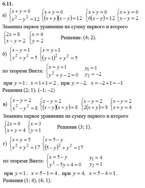 по учебнику мордкович алгебре 9 класс гдз по