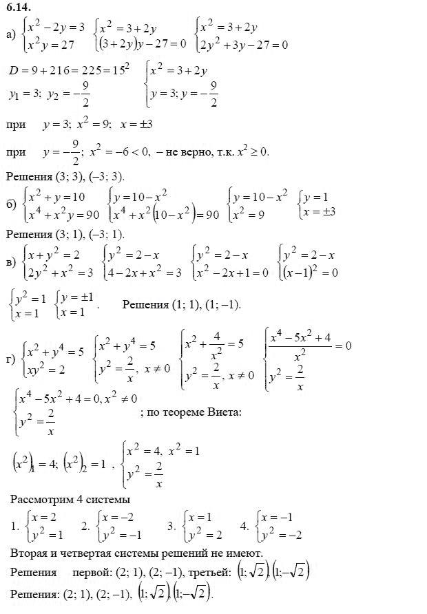 Упражнения для повторения курса алгебры 7-9 классов алимов гдз